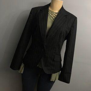 Worthington stretch Striped blazer size 12p